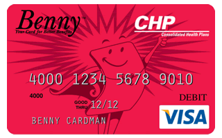 SASI offers the Benny™ Card, a convenient debit card for healthcare purchases